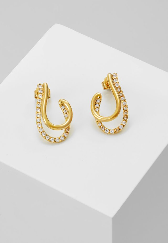KOY EARRINGS - Ohrringe - gold-coloured