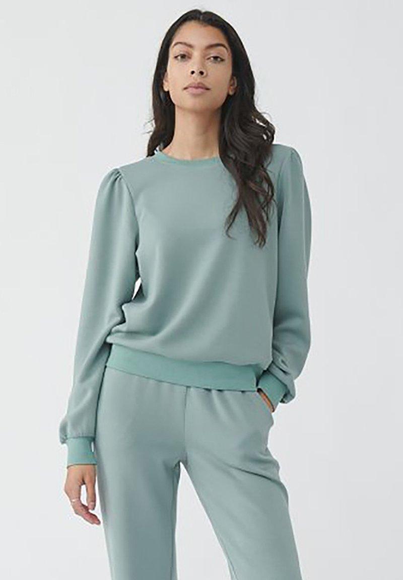Moss Copenhagen - Sweatshirt - chinios green