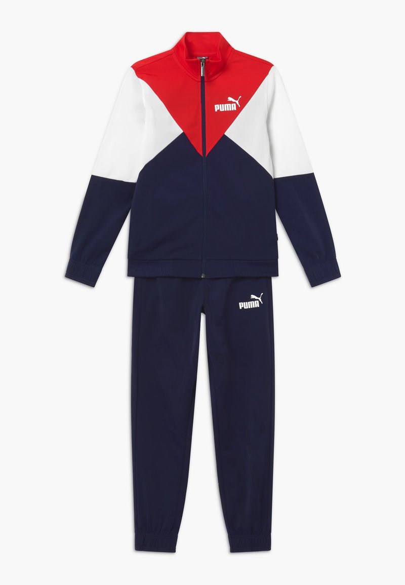 Puma - REBEL SUIT SET - Tracksuit - peacoat