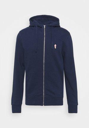 ZIP HOODY - Zip-up hoodie - navy melange