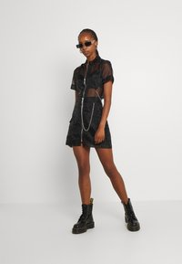 The Ragged Priest - CRYBABY SHIRT - Button-down blouse - black - 1