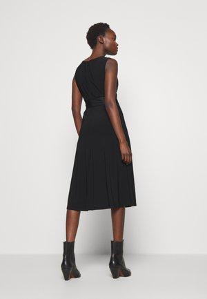 MID WEIGHT DRESS COMBO - Koktejlové šaty/ šaty na párty - black