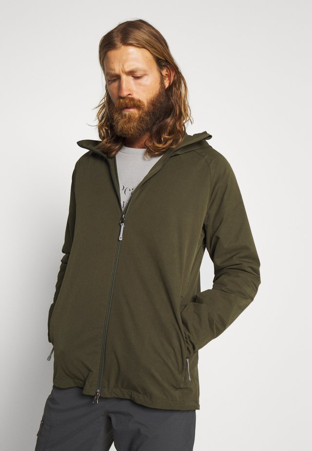 DAYBREAK JACKET - Giacca outdoor - willow green