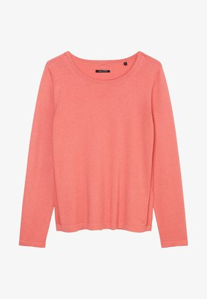 LONG SLEEVE - Strickpullover - hazy peach