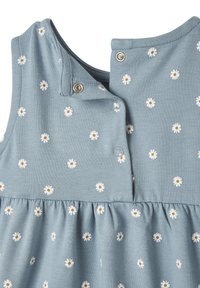 Vertbaudet - Day dress - blau getupft - 3