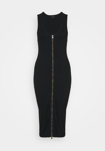 ALICIA DRESS - Shift dress - black