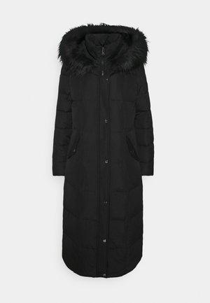 HAND MAXI COAT - Down coat - black