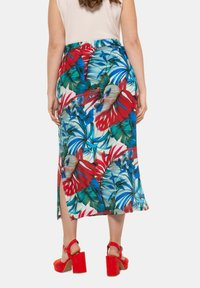 Ulla Popken - Pencil skirt - multicolor - 1