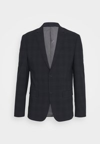 Calvin Klein Tailored - STRETCH SUBTLE CHECK SUIT - Suit - navy - 1