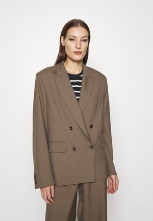 ZEPHERINE - Krátký kabát - black olive