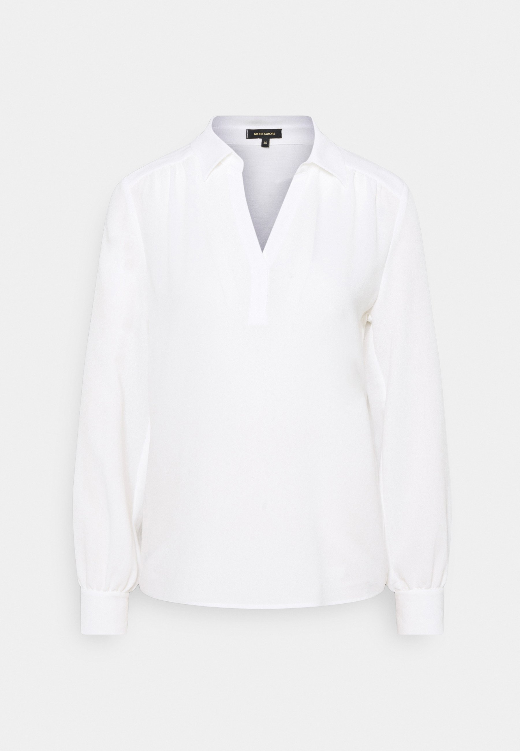 Femme BLOUSE SHIRT WITH CREPE FRONT - Blouse