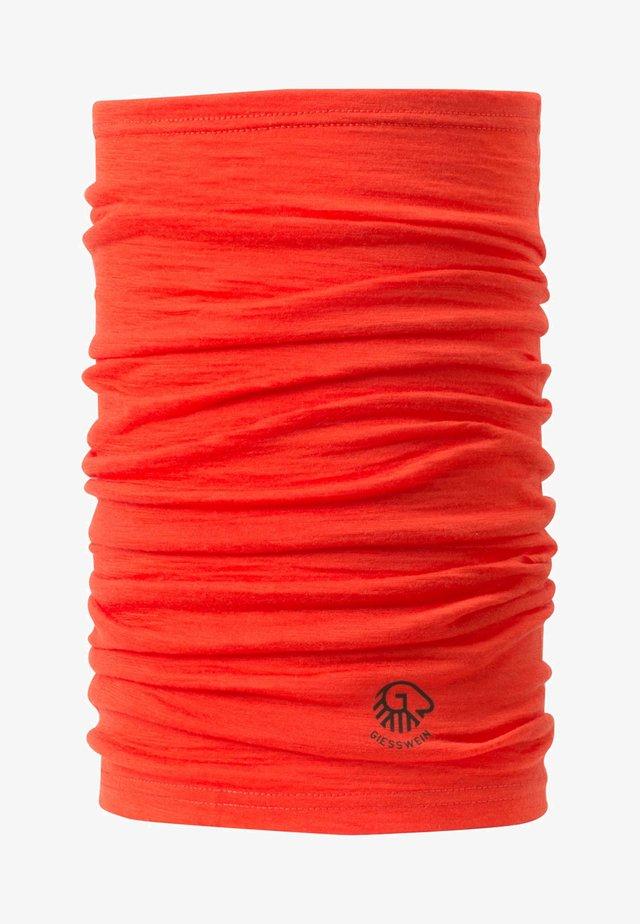 Scarf - neon orange