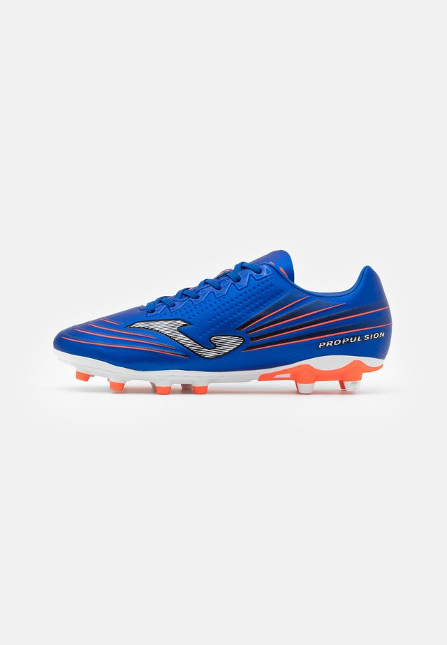 PROPULSION - Moulded stud football boots - blue