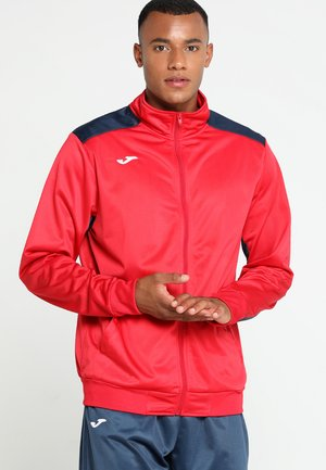 ACADEMY - Tracksuit - red/dark navy
