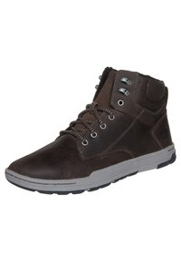 Cat Footwear - COLFAX - Šněrovací kotníkové boty - dark brown - 6