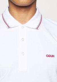 HUGO - DINOSO - Polo shirt - white - 5