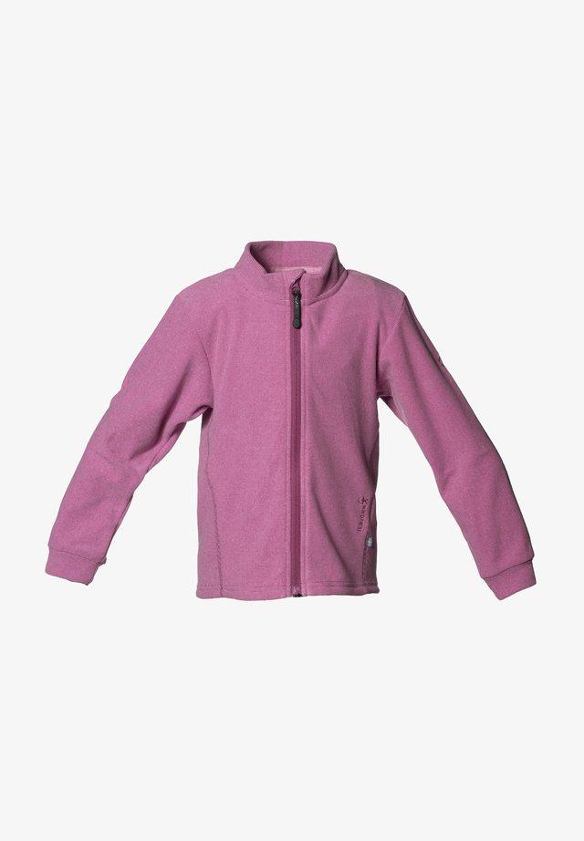 LYNX - Fleece jacket - dusty pink