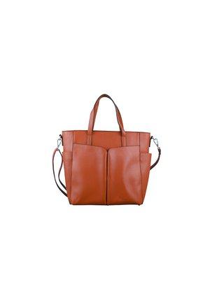 LUCIANA - Handbag - cognac