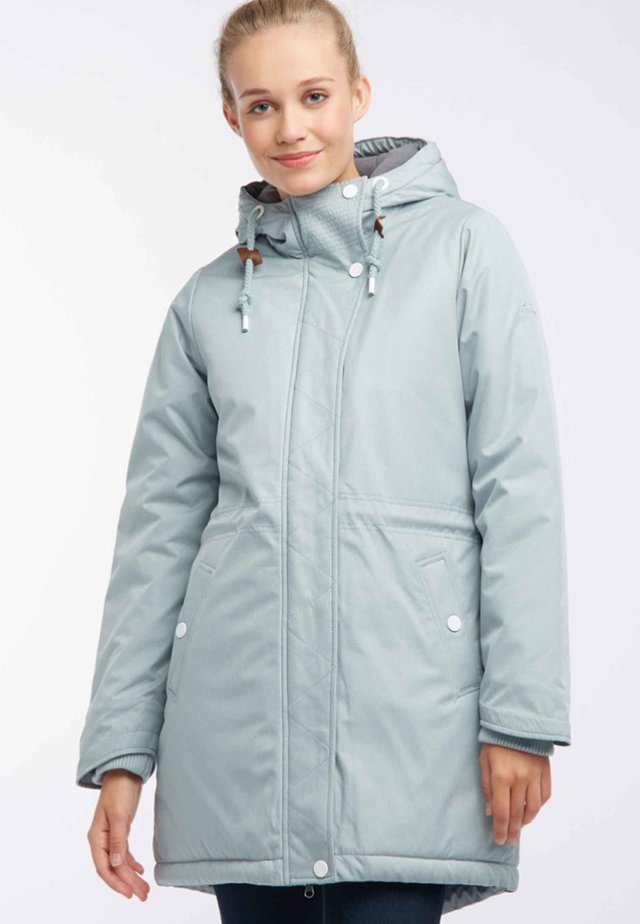 Winter coat - mint melange