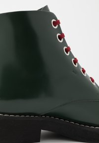 Marni - Lace-up ankle boots - deep sage - 6