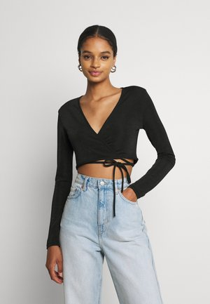 JOELLA  - Long sleeved top - black
