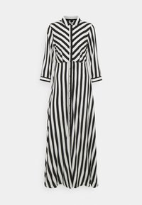 YAS - YASSAVANNA LONG DRESS - Maxi dress - black/ white stripes - 0