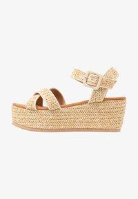 Tata Italia - Platform sandals - beige - 1