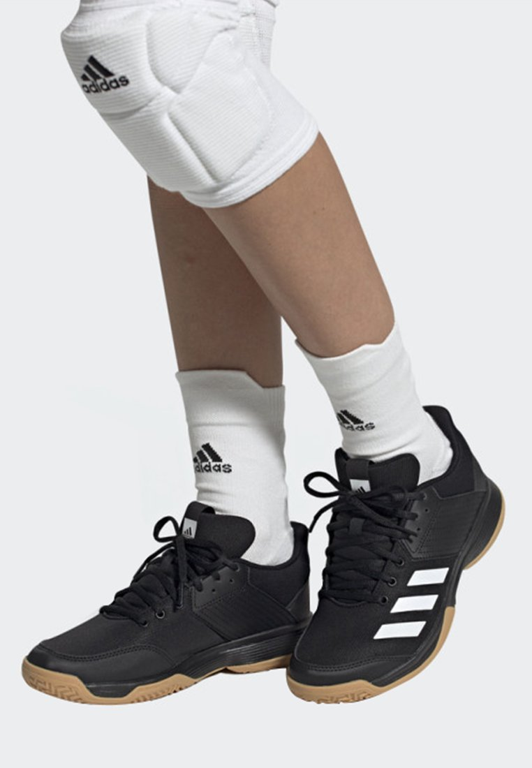 adidas Performance - LIGRA 6 SHOES - Chaussures de volley - black/white