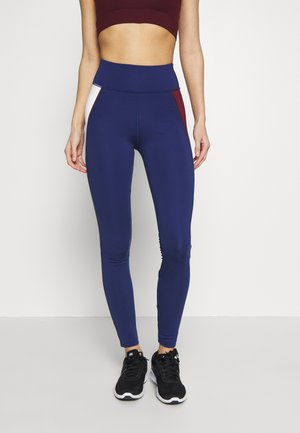 HIGHWAIST TRAINING LEGGING - Punčochy - blue