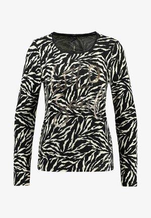 LONGSLEEVE - Long sleeved top - schwarz