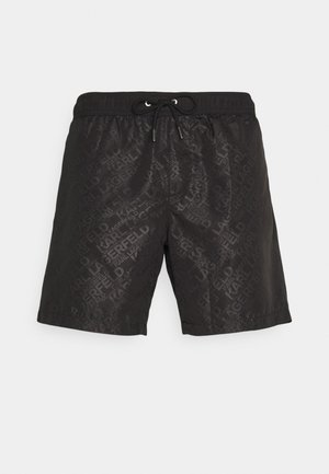 ELEGANT ALL-OVER MEDIUM  - Swimming shorts - black