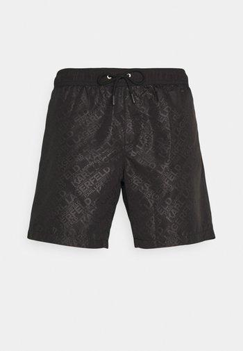 ELEGANT ALL-OVER MEDIUM  - Swimming shorts - black