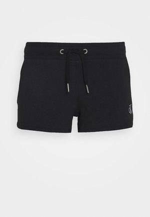 BACK LOGO - Pantalon de survêtement - black