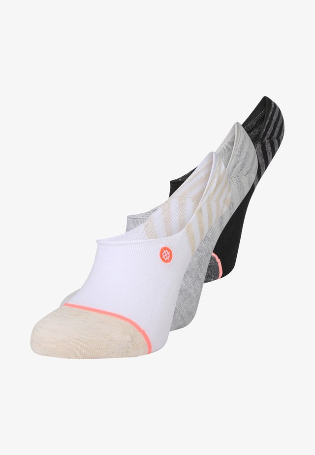 INVISIBLE 3 PACK - Trainer socks - multi-coloured