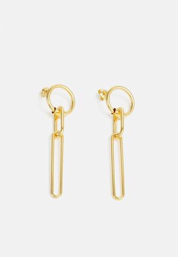 BOLD EARRINGS - Earrings - gold-coloured