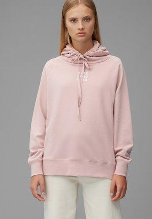 Hoodie - faded pink