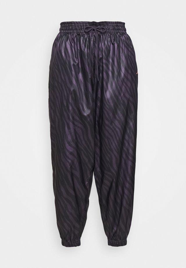 Pantalones - dark raisin/bright mango