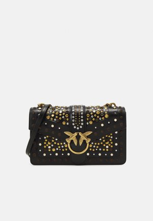 LOVE CLASSIC ICON NEW STUDS VINTAGE - Across body bag - black