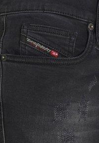 Diesel - D-ISTORT-X - Jeans Skinny Fit - black denim - 7