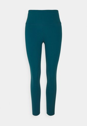 THE YOGA LUXE 7/8 - Tights - geode teal/midnight turquoise