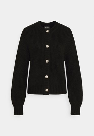 MAJLI CARDIGAN - Strikjakke /Cardigans - black dark unique