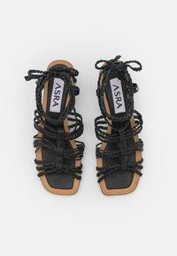 ASRA - JENSON - Sandals - black - 5