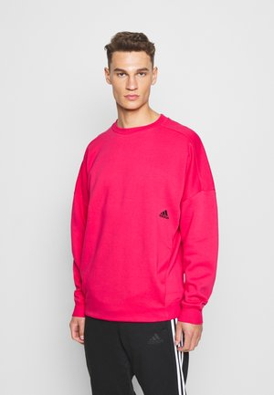 Sweatshirt - power pink