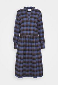 Libertine-Libertine - ALLEY DRESS - Denní šaty - royal blue check - 3