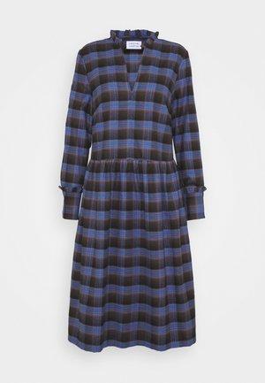 ALLEY DRESS - Denní šaty - royal blue check