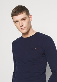 Superdry - Long sleeved top - rich navy - 3