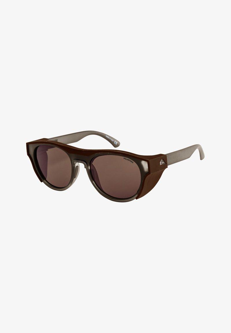Quiksilver - ELIMINATOR POLARIZED+ - Sunglasses - grey/brown