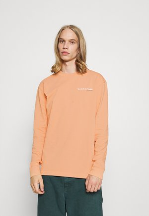 LONGSLEEVE TEE WITH CHEST PRINT - Long sleeved top - pink horizon
