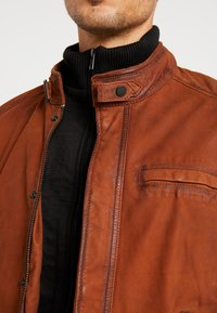 Oakwood - JAYDEN - Leather jacket - whisky - 4