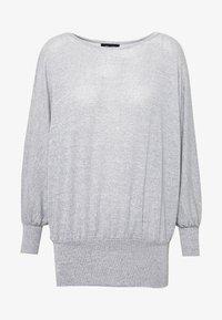 New Look - DEEP HEM BATWING - Jersey de punto - light grey - 4